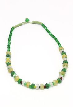Dalia Green - Green Crystal Before A$27.95 NOW ON SALE A$19.95 Fair Trade Fashion, Indigo, Jewelry Accessories, Beaded Necklace, Crystals, Green, Beaded Collar, Jewelry Findings, Fair Trade