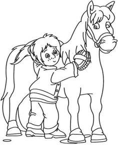 Djur Målarbilder för barn. Teckningar online till skriv ut. Nº 172