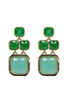 kate spade new york accessories Seafoam Chandelier Earrings