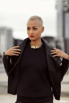 21 femmes qui prouvent que les cheveux rasés sont sublimes (PHOTOS) …