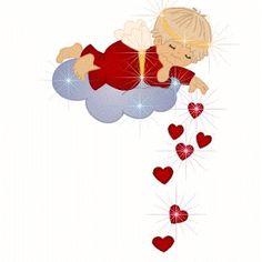Happy Valentine's day 2016 to all lovers & couples. Free and premium gif images of Valentines Day . We share the best Happy Valentine image. Animated Heart, Animated Gif, Angel Gif, Bisous Gif, Gif Bonito, Good Night Prayer, Love You Gif, Night Gif, Heart Gif