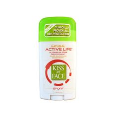 Kiss My Face - Active Life Stick-Sport $ 5.99 | Deodorant, cruelty free and vegan