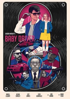 Baby Driver (2017) [1600 x 2263]
