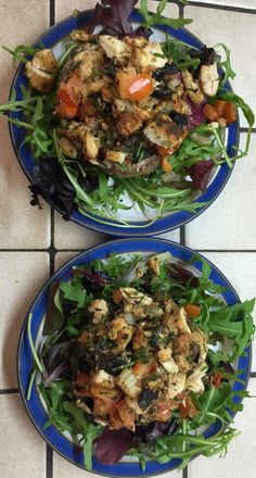 Baked Chicken Mushrooms - The Blood Sugar Diet by Michael Mosley