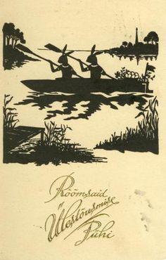 Estonian postcard