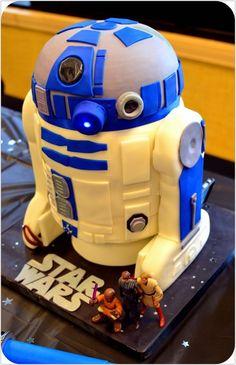 R2D2 Cake Follow Us: www.jevelweddingplanning.com www.facebook.com/jevelweddingplanning/  www.pinterest.com/jevelwedding/ www.twitter.com/jevelwedding/