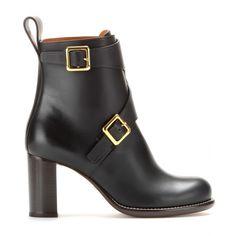 Leather Ankle Boots ☆ Chloé + mytheresa
