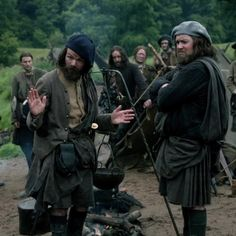 Angus (Stephen Walters) and Rupert (Grant O'Rourke) in The Search of Outlander on Starz via http://outlander-online.com/2015/05/10/1370-uhq-1080p-screencaps-of-episode-1x14-of-outlander-the-search/
