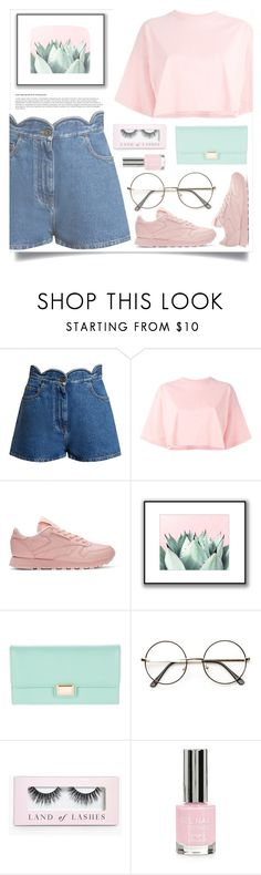 """scissor, paper, rock"" by gwomack ❤ liked on Polyvore featuring Valentino, Puma, Reebok, Tara Jarmon, Boohoo and Topshop"