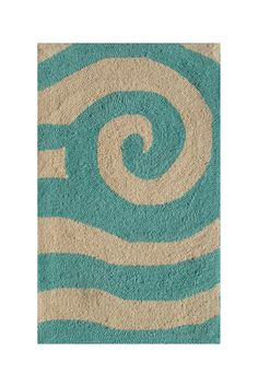 Yala Indoor/Outdoor Rug - Blue/White by The Rug Market America on @HauteLook