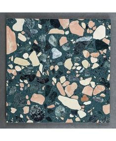 Buy Sea Coral terrazzo resin tiles online - Visit our online store! Showroom in - Samples available! Mon Cheri, Bathroom Floor Tiles, Tile Floor, Style Tiles, 1930s Bathroom, Bathroom Ideas, Bathrooms, Ok Design, Deco Restaurant
