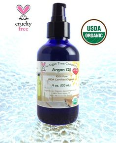 The Argan Tree Company Argan Oil 4 oz Bottle Luxury Size Highest Quality Grade 100 Pure Organic USDA Certified Best Uses AntiAging Moisturizer for Dry Sensitive Skin  Hands Neck  Face Primer under Makeup Serum for Acne  Scars  Wrinkles Treatment Natural Body Massage Oil Softening Cuticles  Chapped Lips Moroccan Hair Shine  Healthier Scalp  Growth Purifying  Moisturizing for You *** Click image for more details.