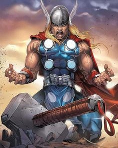 Unworthy Thor by tony-tzanoukakis :icontony-tzanoukakis: Unworthy Thor by tony-tzanoukakis Cartoons & Comics / Digital Media / Comics / tony-tzanoukakis Sometimes it works well Poster Marvel, Poster Superman, Posters Batman, Marvel Comic Universe, Marvel Comics Art, Comics Universe, Marvel Heroes, Marvel Avengers, Batman Vs