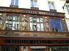 Paris, Bouillon Chartier, rue racine - endroit FABULEUX !