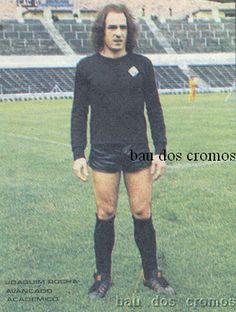 Joaquim Rocha. Época 1976-77. Neste ano (e não só...), a Académica usou o nome de Clube Académico de Coimbra devido a divergências com a direcção da Associação Académica de Coimbra.