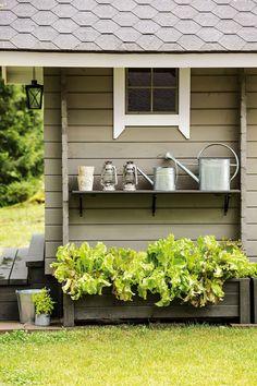 Discover recipes, home ideas, style inspiration and other ideas to try. Dream Garden, Home And Garden, Outdoor Living, Outdoor Decor, Outdoor Settings, My Dream Home, Garden Inspiration, Country Style, Outdoor Gardens