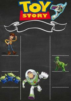 Toys story party ideas infinity 20 Super ideas - Toys for years old happy toys Toy Story 3, Toy Story Party, Toy Story Theme, Toy Story Birthday, 4th Birthday Parties, 3rd Birthday, Birthday Ideas, Imprimibles Toy Story, Festa Toy Store