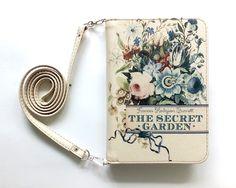 "Book clutch ""The secret garden"" by BAGatelleStudio on Etsy https://www.etsy.com/listing/386170004/book-clutch-the-secret-garden"