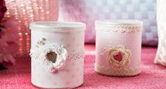 Tuunattu purkki Candle Holders, Candles, Diy, Bricolage, Porta Velas, Candy, Do It Yourself, Candle Sticks, Homemade