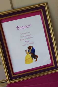 We Heart Parties: Beauty and the Beast