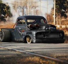 Menacing- Scary-Awesome! What an intimidating truck. Too cool!