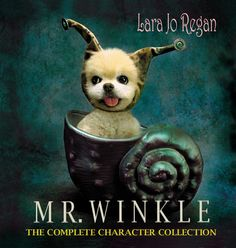 New! MR. WINKLE THE COMPLETE CHARACTER COLLECTION Highest quality coffee table art book. 154 pgs. BOOKS ARE SIGNED+PAWTAGRAPHED!