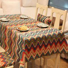 Algodão reativa mesa de impressão pano 3 estilos toalha de mesa retangular à prova de poeira para casamento casa decoração hot sale alishoppbrasil