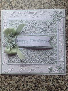 Card made using Sue Wilson's dies and Phill Martin's stamp