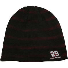 NASCAR Chase Authentics Kevin Harvick Happy Hour Reversible Beanie - Black/Red by Football Fanatics. $17.95. Chase Authentics Kevin Harvick Happy Hour Reversible Beanie - Black/RedOne size fits mostReversible double-layered beanie72% Acrylic/28% WoolApplique logo patchesImportedLoose weave results in subtle stripe patternOfficially licensed NASCAR product72% Acrylic/28% WoolReversible double-layered beanieApplique logo patchesLoose weave results in subtle stripe patternOne size ...