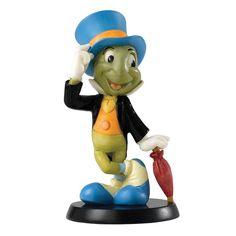 A Fine Conscience - Jiminy Cricket Figurine Enchanting Disney Collection A26143