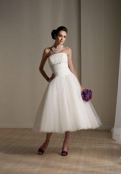 Tea Length Wedding Dress Tagged With Best Simple Wedding Dresses