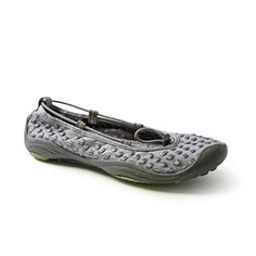 Cute balleria style shoes by Jambu.  These look comfy. ; )