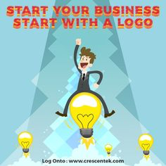 Present your company to the world with a ritzy logo. Come to Cresecntek for premier #LogoDesignServices.