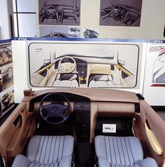 OG | 1991 Mercedes-Benz S-Class - W140 | Interior clay design proposal