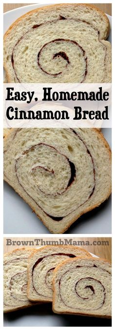 This tantalizing cinnamon bread is delicious and easy to make. It's amazing in sandwiches, toasted, or as French toast. Raisins and walnuts optional!