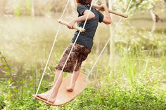 8 Outrageously Cool Swings &Hide-Outs That Will Keep Your Kids Outside. All. Summer. Long.