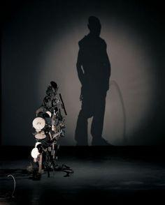 crazy garbage shadow art