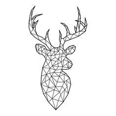 Geometric Wolf, Geometric Drawing, Rope Art, Diy Home Decor Easy, Deer Art, Leh, Aesthetic Iphone Wallpaper, String Art, Line Drawing