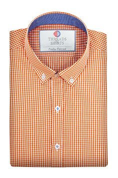 Tangerine Mason - ₹2,800/-  A stunning business casual checks patterning with a soft tangerine touch to its design. #Business #Casual #Shirt #Shirts #Corporate #Fabrics #Luxury#Handcrafted #Custommade #Fashion #Style #Custom #Checks #Solids #Pastels #Checkered #Fun#Quirky #Men #Women #MenFashion #WomenFashion