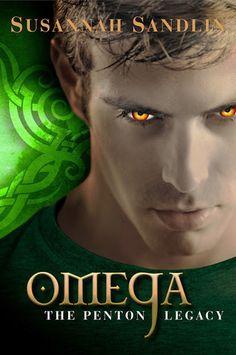 Cover Reveal: Omega (Penton Legacy #3) by Susannah Sandlin. Coming 2/5/13