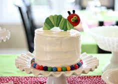 This Cake...Very Hungry Caterpillar #penguinkids #VHCday