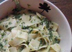 Tagliatelle ze szpinakiem i serkiem mascarpone - przepis ze Smaker.pl Quinoa, Potato Salad, Rice, Potatoes, Keto, Pasta, Dinner, Ethnic Recipes, Food