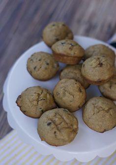 banana PB muffins