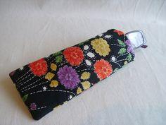 Kimono silk glasses case £5.00