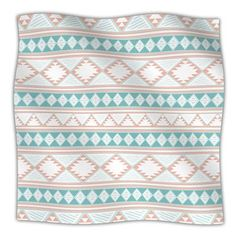 """East Urban Home 'Spring Tie Dye' By Nika Martinez Fleece Blanket Size: 80"""" L x 60"""" W x 1"""" D"""
