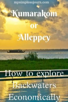 Kumarakom or Alleppey and Backwaters of Kerala - My Simple Sojourn Travel Advice, Travel Tips, Travel Destinations, Travel Ideas, Solo Travel, Budget Travel, Kerala Travel, India Travel Guide, China Travel