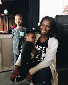 dont be fooled by Neriahs fake smile - a great time was had by all at the baby soul jam.  shoutout to @kidochicago and @mamafreshchi for putting together such a dope event.  nap time for both kids! #chicagokids #Chicagomoms