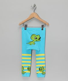 LOOOVE these baby dino leggings. The dino looks like he is up to no goo. :) $15 on zulily....