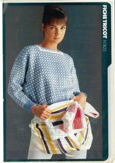 fiches tricot elle magazine