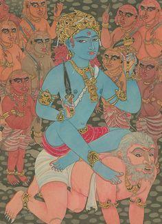 Bhairava-Shiva as the master of the demons. Himalayan Academy. Kauai. Hawaii. Om Namah Shivaya.
